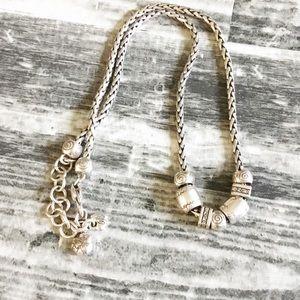 Brighton Necklace Sliver Charm